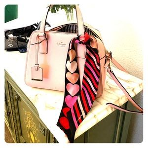Kate Spade purse and scarf